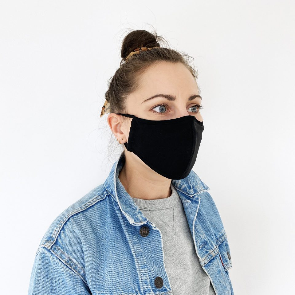 Made For The People - Face Mask - Black