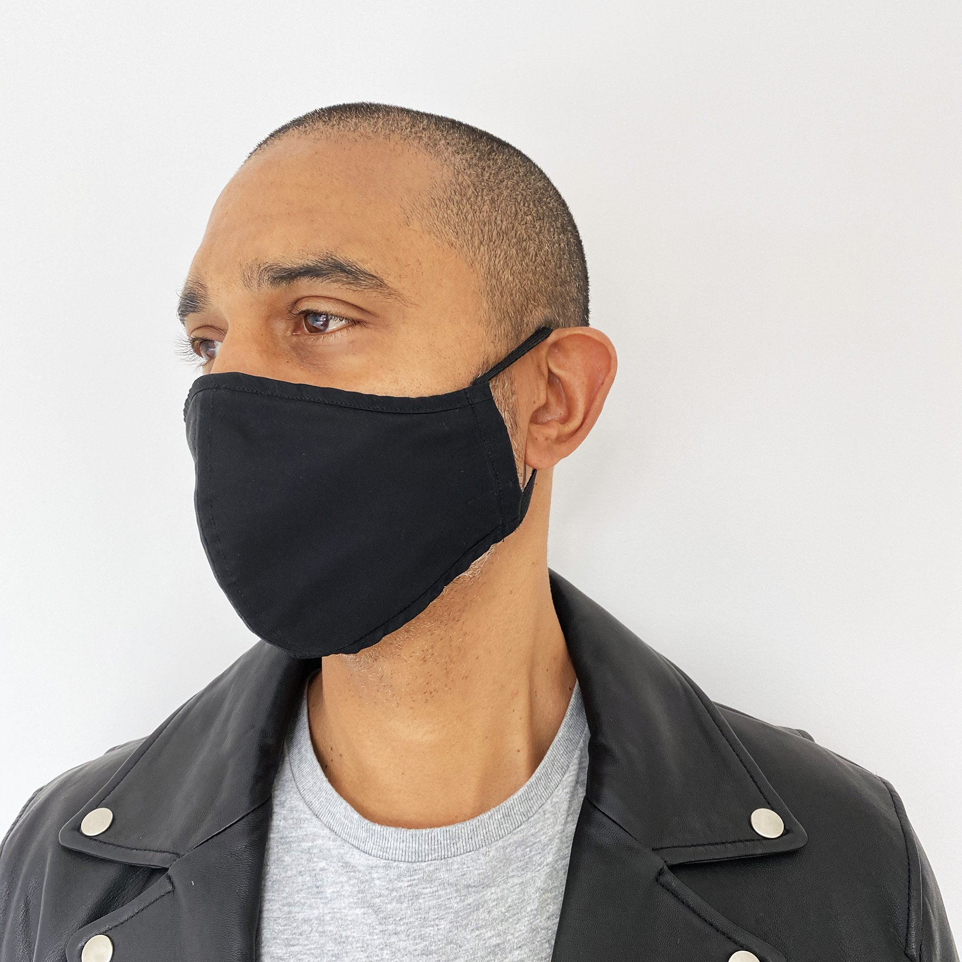 or The People - Protective Face Mask - Black