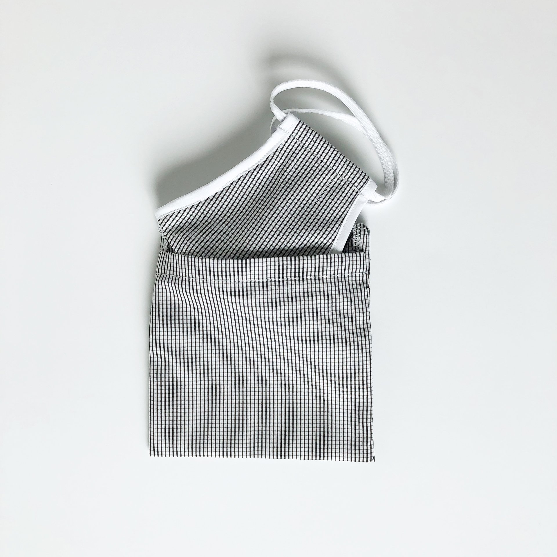 Made For The People - Face Mask and Protective Pouch - Grid