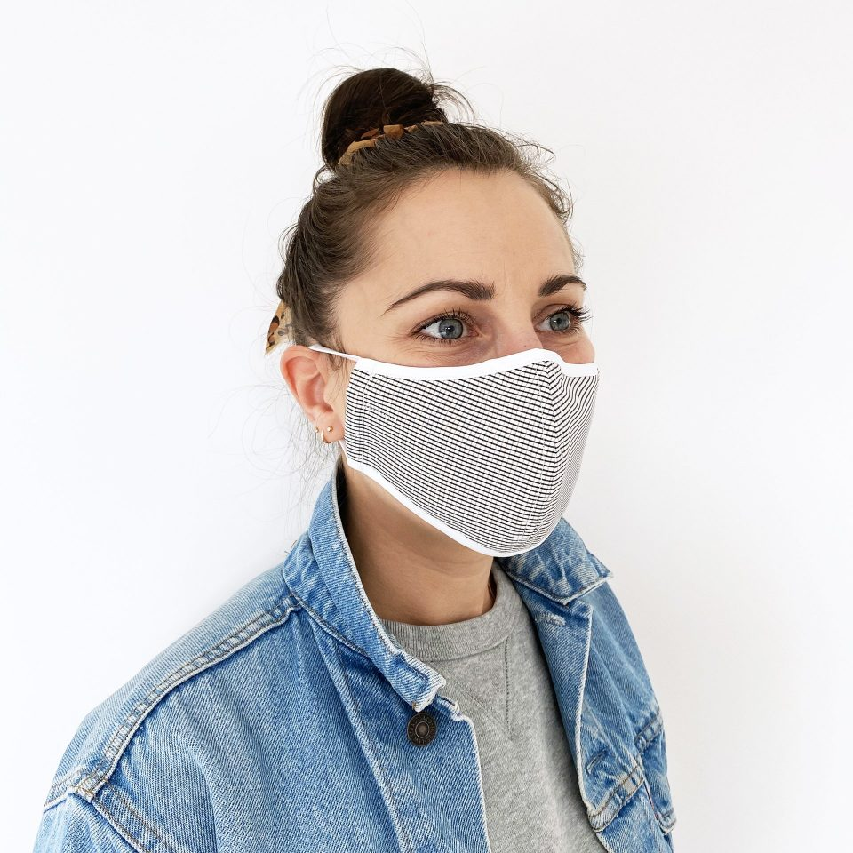 Made For The People - Face Mask - Grid