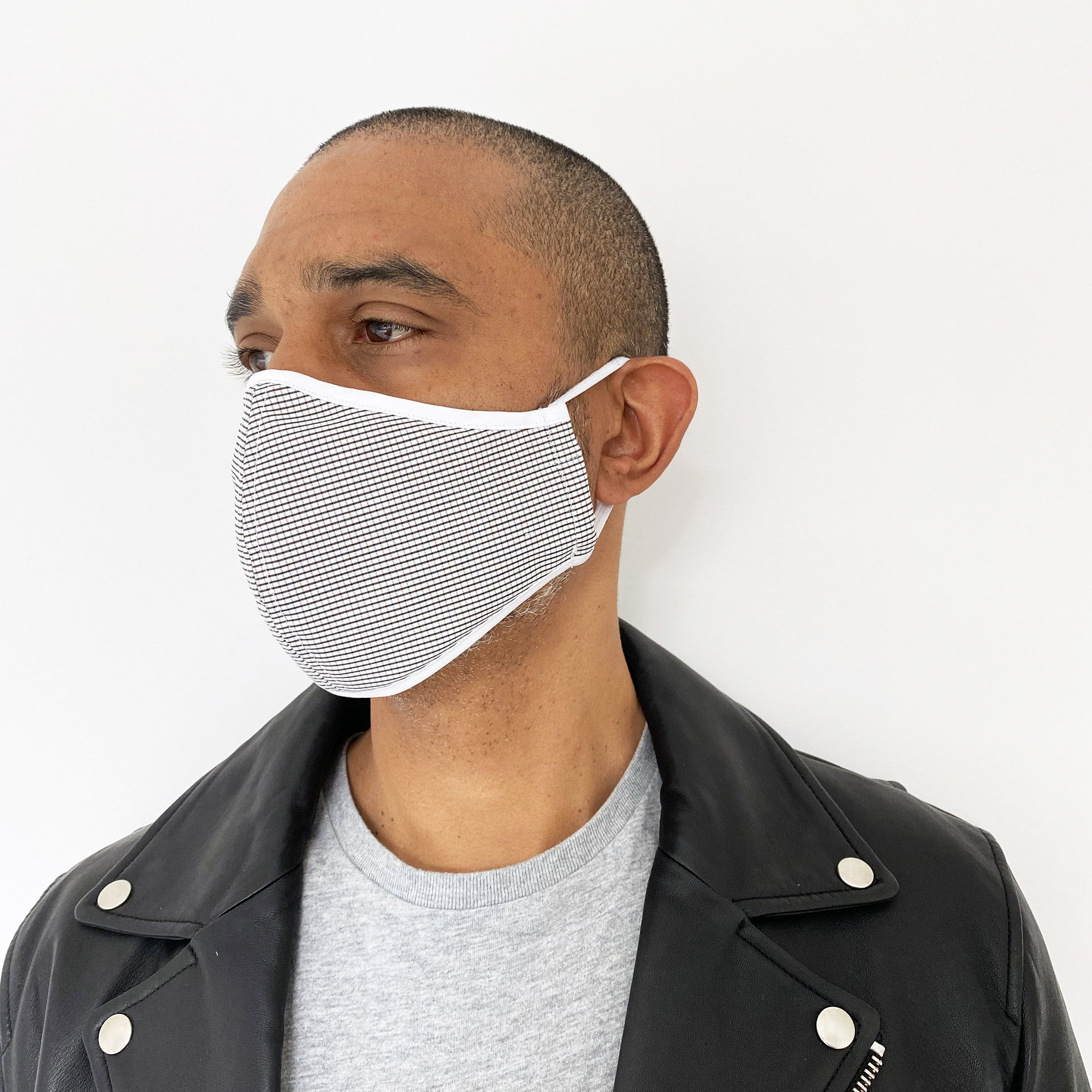 or The People - Protective Face Mask - Grid