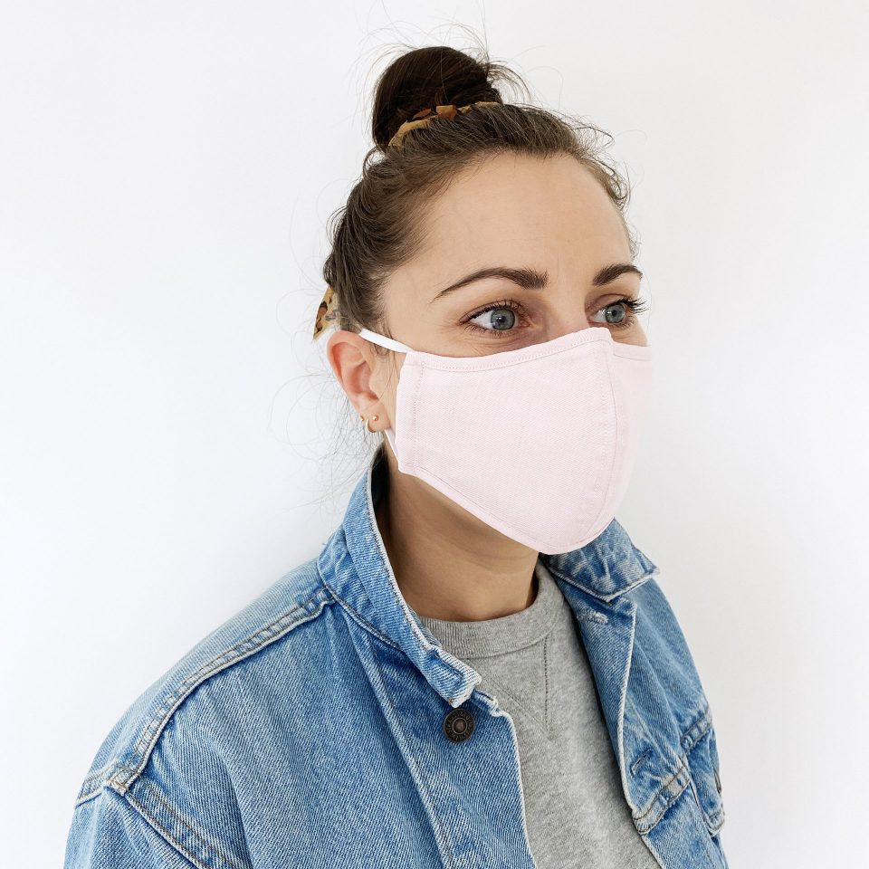or The People - Protective Face Mask - Pink