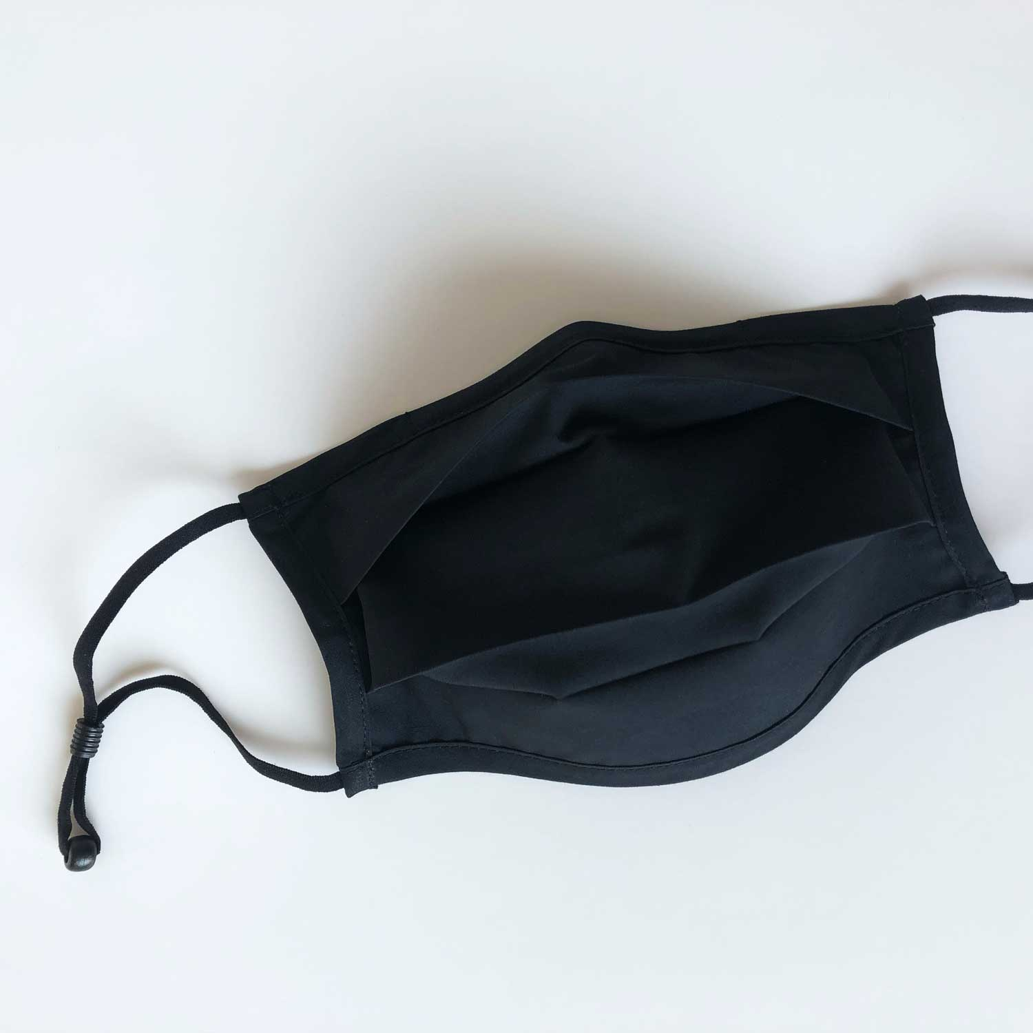 Made For The People - Accordion Face Mask Black