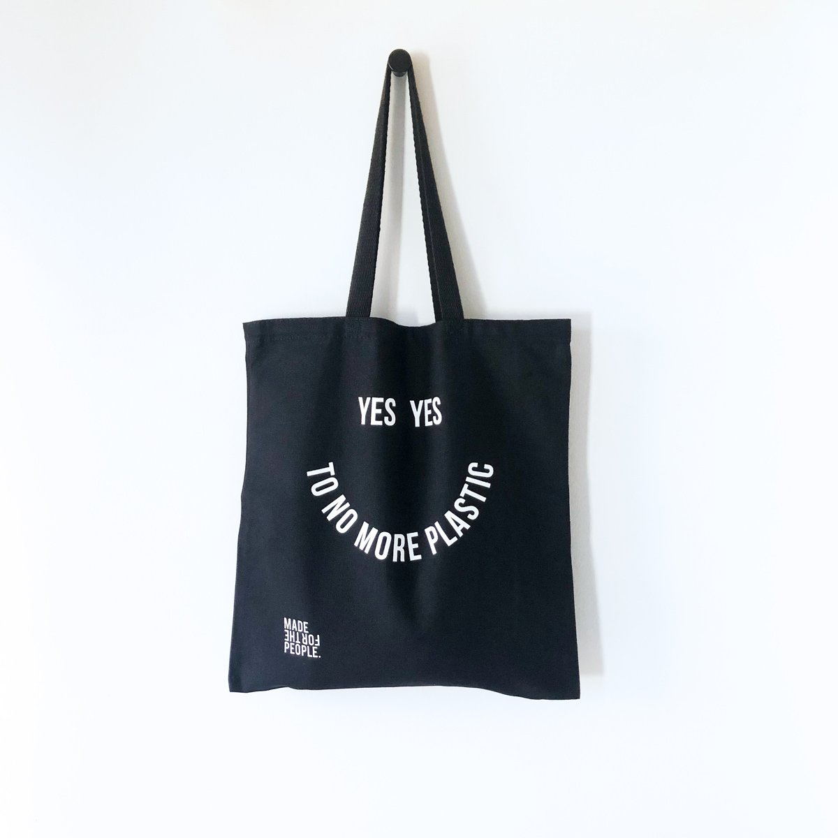 No More Plastic Tote Bag - Made For The People