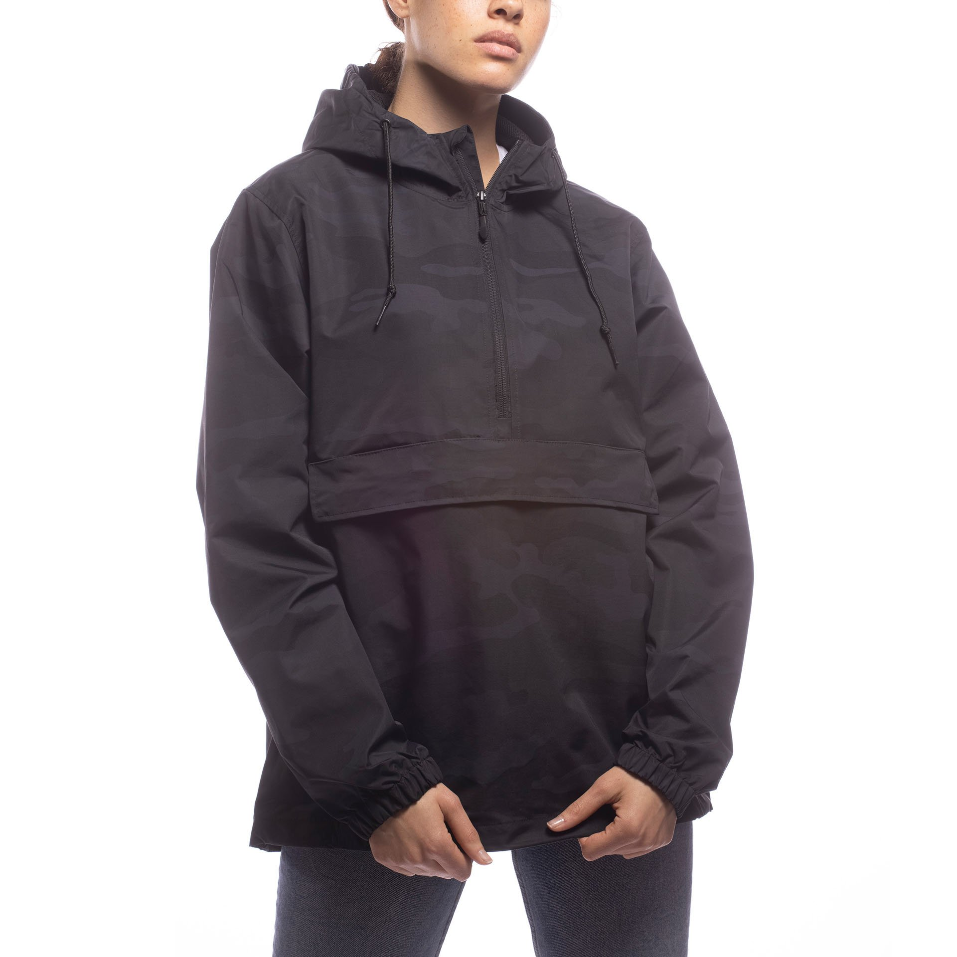 Made For The People - Unisex Outerwear Collection Anorak - Camo