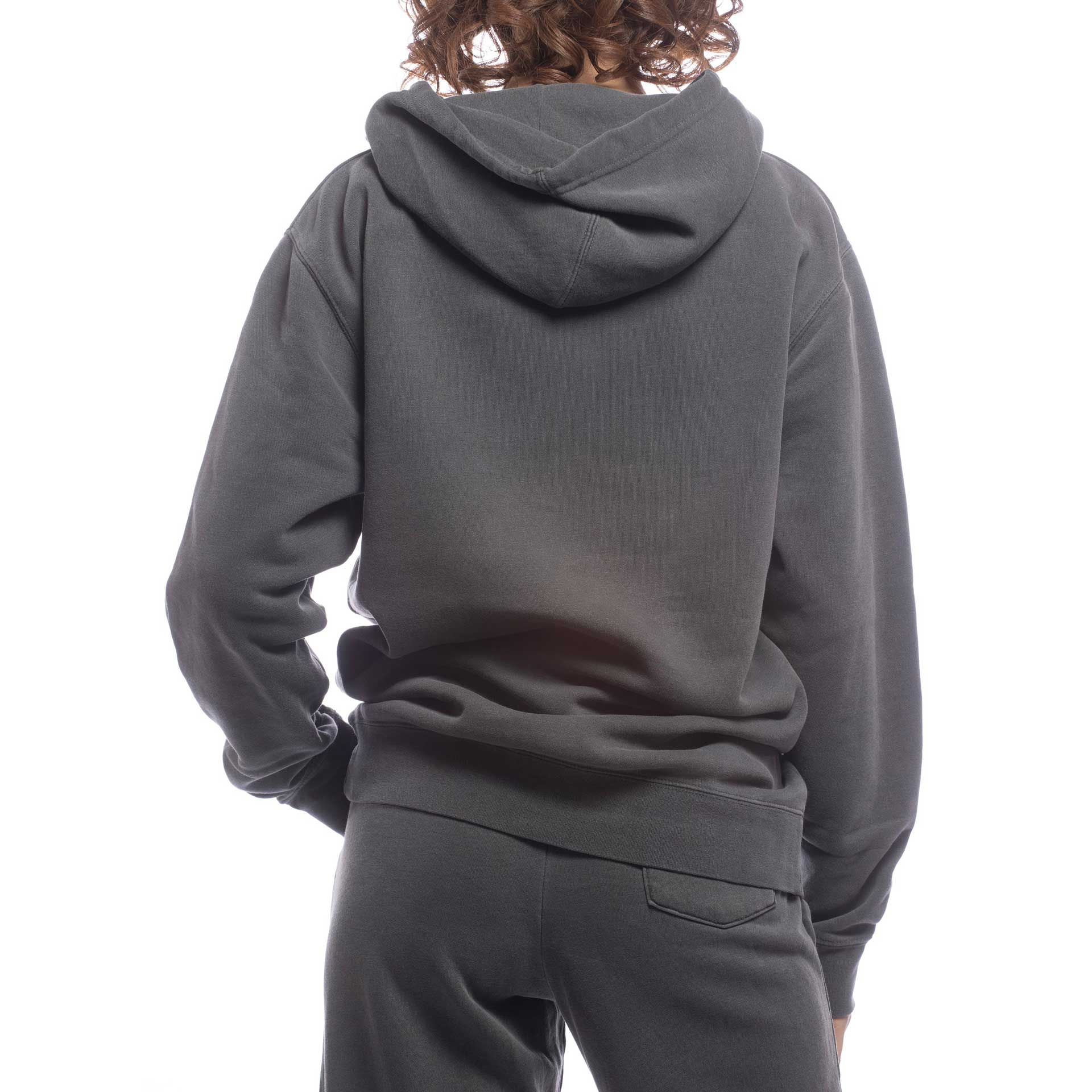 Unisex Upcycled Hoodie - Made For The People - Black