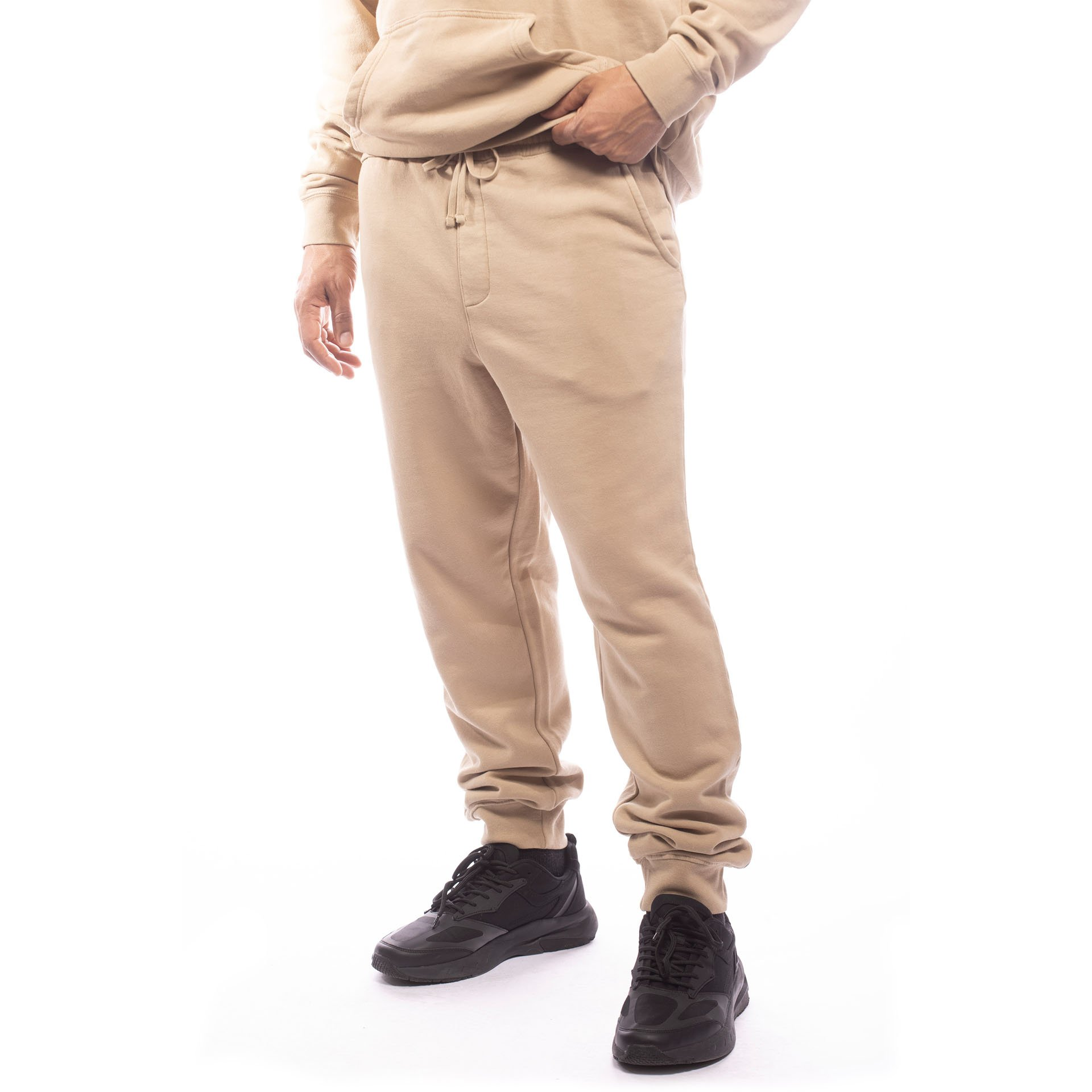 Unisex Upcycled Jogger - Made For The People - Brown