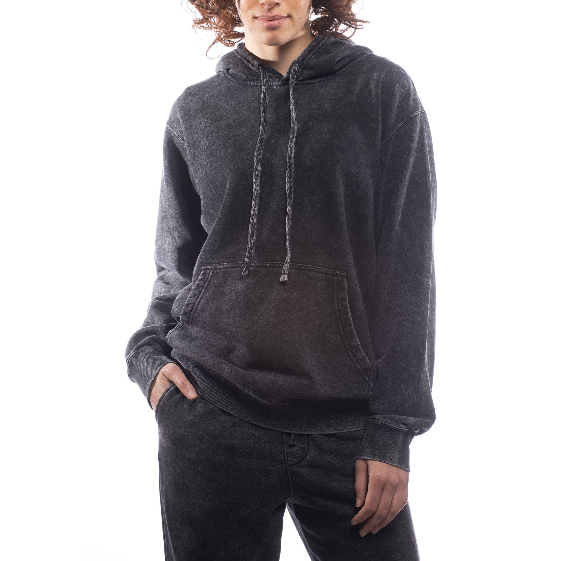 Unisex Upcycled Hoodie - Made For The People - Mineral Wash